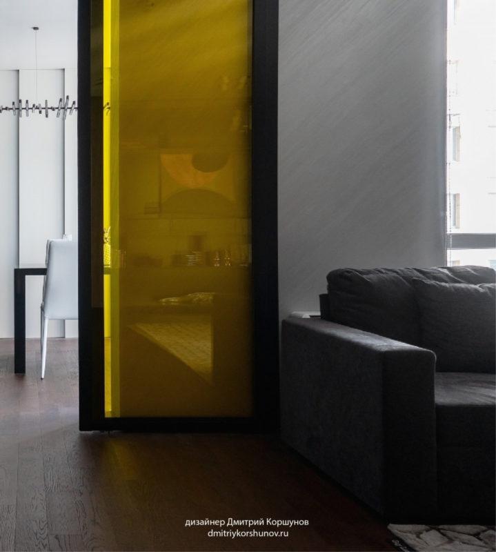 Штукатурка с эффектом металла в гостиной фото интерьера