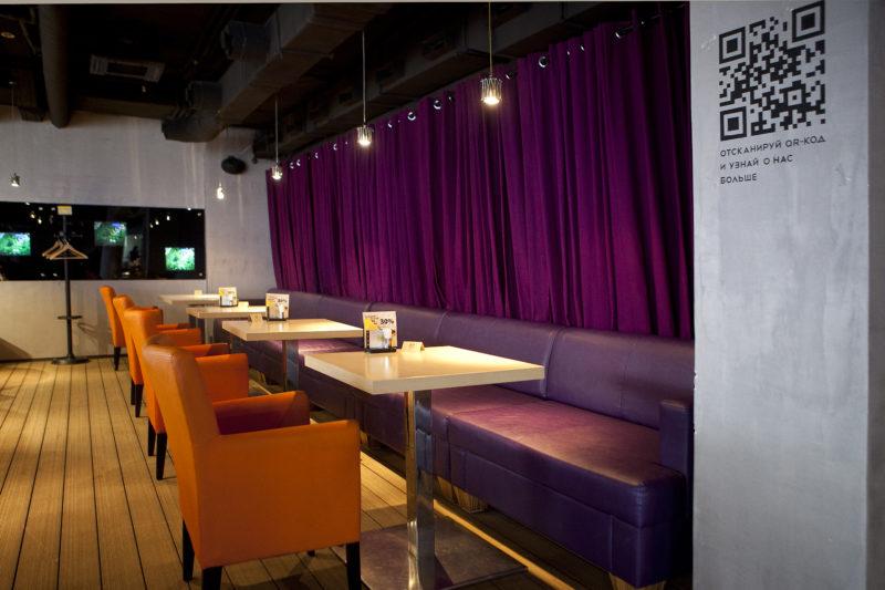 Интерьер ресторана в стиле ЛОФТ